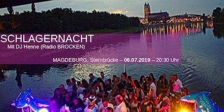 Schlagernacht - DJ Henne (Radio Brocken) Tickets