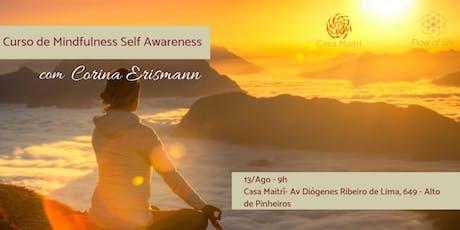 Programa Introdutório de Mindfulness - Self Awareness (Ago/2019) ingressos