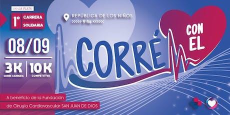 1ra. EDICIÓN CARRERA CORRE CON EL CORAZON entradas