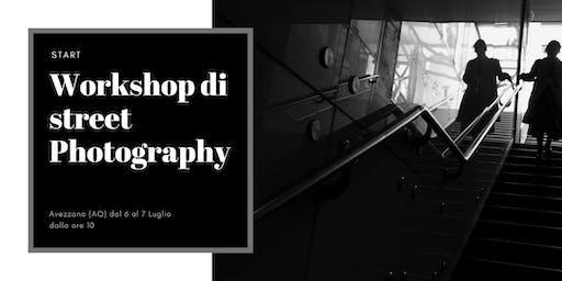 Street Photography Workshop Start