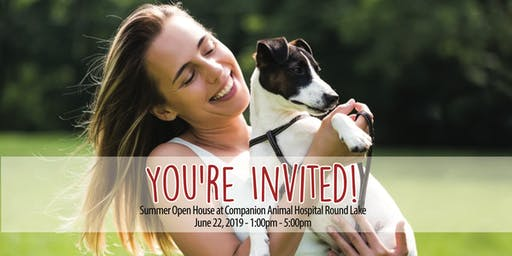 Summer Open House at Companion Animal Hospital Round Lake!