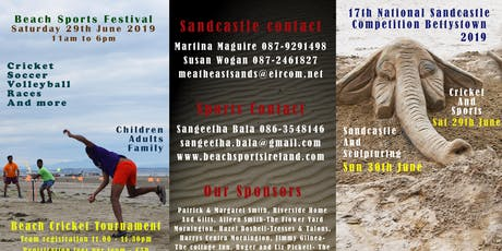 Sandcastle & Sculpture Competition tickets