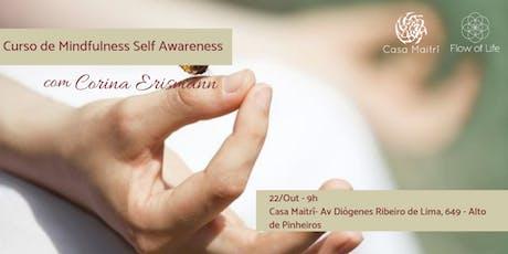 Programa Introdutório de Mindfulness - Self Awareness (Out/2019) ingressos