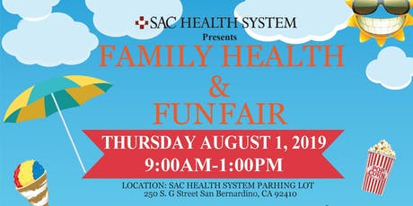 Family Health and Fun Fair tickets