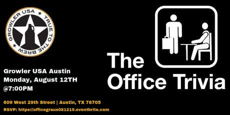 The Office Trivia at Growler USA Austin tickets