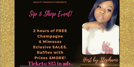 Sip & Shop Event tickets