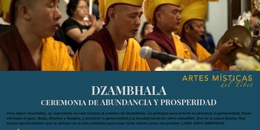 Artes Místicas del Tibet. Ceremonia de abundancia y prosperidad