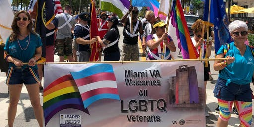 Walk with Team Miami VA in the Stonewall Pride Parade 2019