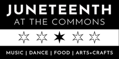 Second Annual Juneteenth Celebration at the Commons tickets