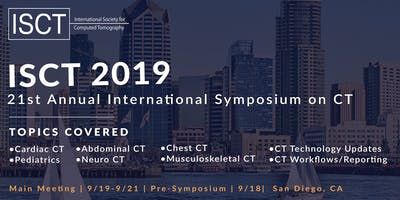 21st Annual International Symposium of CT