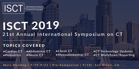 21st Annual International Symposium of CT tickets