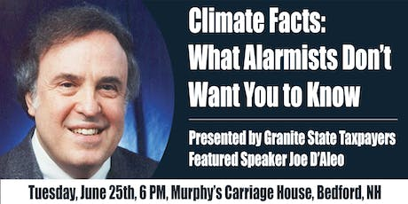 Granite State Taxpayers Climate Facts Meeting tickets