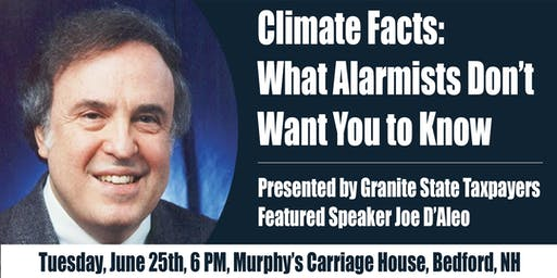 Granite State Taxpayers Climate Facts Meeting