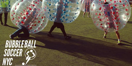 Bubble Soccer Pickup Game