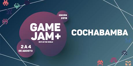 Game Jam + 2019 (Cochabamba) entradas