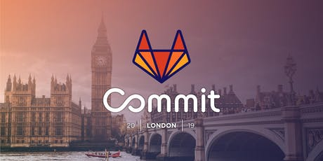 GitLab Commit 2019 - London tickets