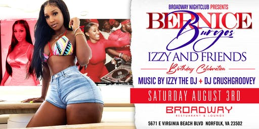 IZZY AND FRIENDS: PERFOMANCE BY MONEYMAN HOSTED BY BERNICE BURGOS