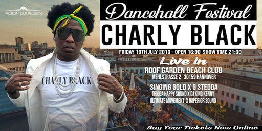 Charly Black Live in Hannover Dancehall Festival Open Air