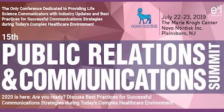 ExL Pharma's PR Summit Networking Dinner: Mistral Princeton tickets