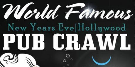 Hollywood New Year's Eve PubCrawl 2020 tickets