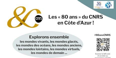 """""""80 ans du CNRS"""" / """"Balade en mer salée : de l'océanographie à la médecine"""" billets"""