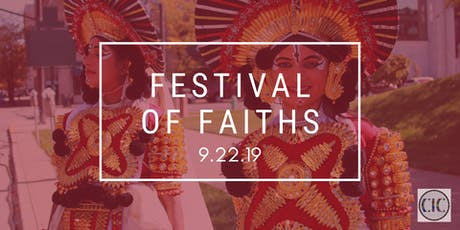 2019 FESTIVAL OF FAITHS tickets