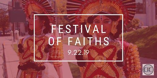 2019 FESTIVAL OF FAITHS