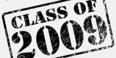 NCCHS Class of 2009 10 year class reunion tickets