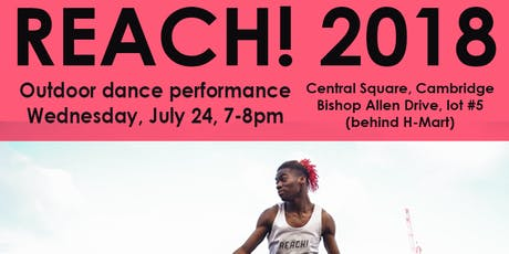 Reach Outdoor Dance Performance tickets