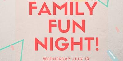 Wacky Wednesday Family Fun Night!