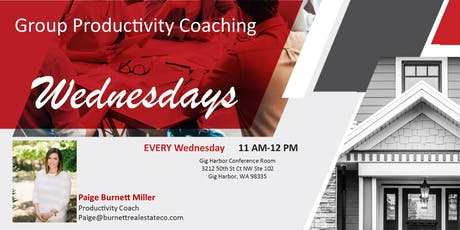 Group Productivity Coaching tickets