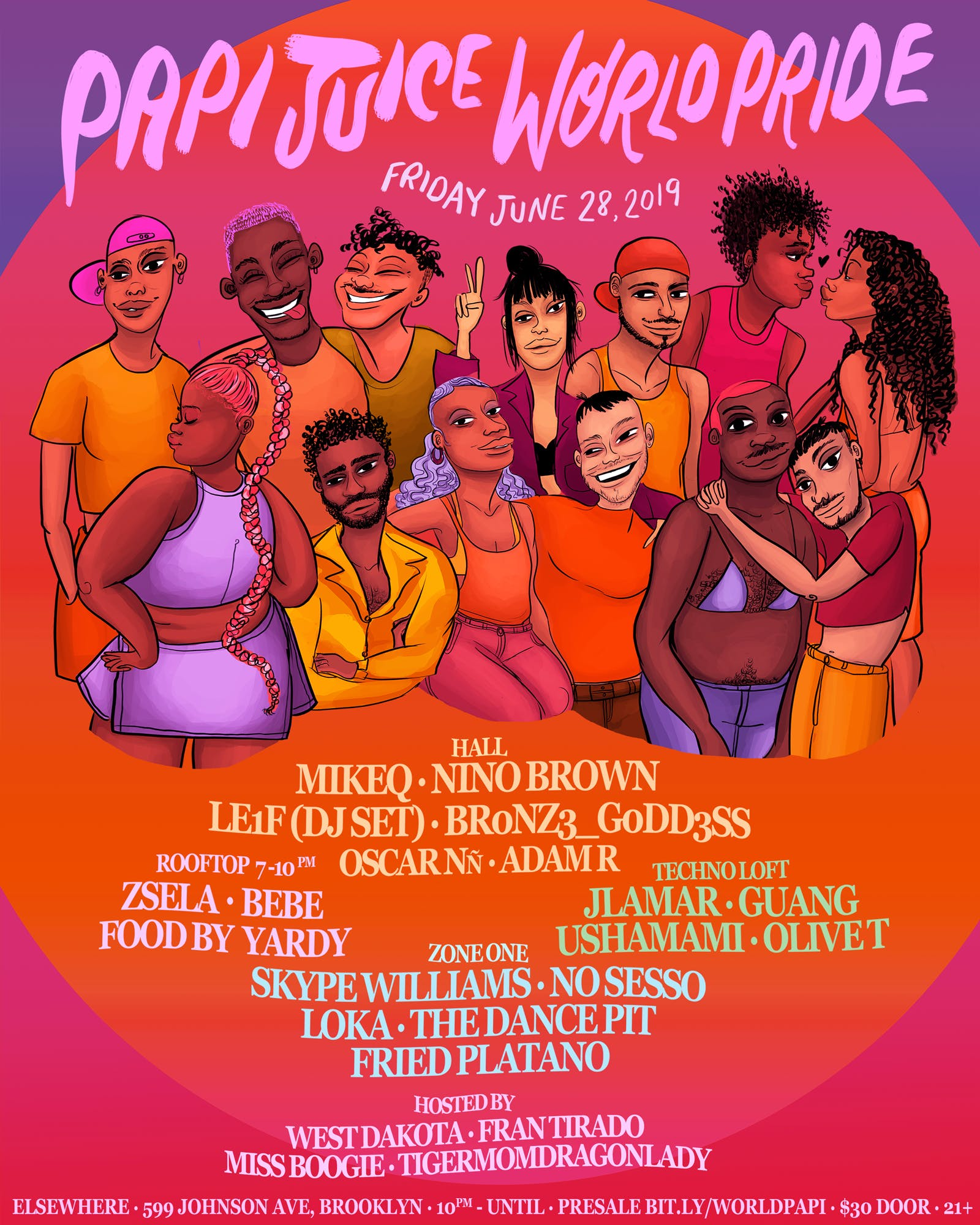 Papi Juice Vol. 47: World Pride w/ MikeQ, br0nz3_g0dd3ss, LE1F (DJ Set), Nino Brown & More