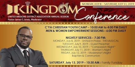 UMDA Kingdom Conference 2019 tickets