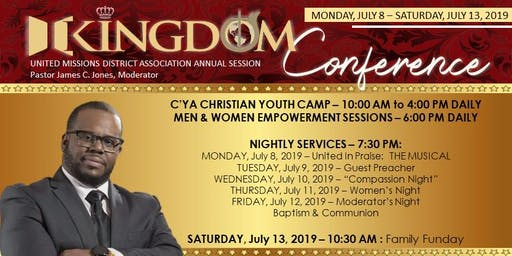 UMDA Kingdom Conference 2019