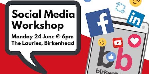 Social Media Workshop - Birkenhead BID Retailers