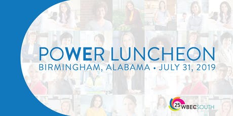 WBEC SOUTH POWER LUNCHEON - ALABAMA tickets