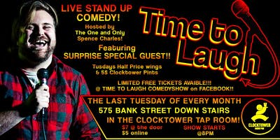 Time To Laugh Comedy June 25th