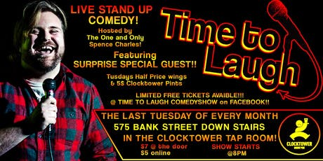 Time To Laugh Comedy July 30th tickets