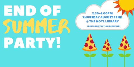 End of Summer Party! tickets