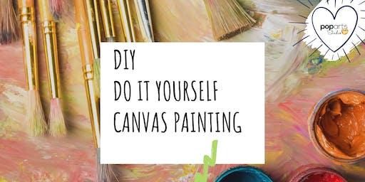 Drop-In DIY Studio - PopArts Family Friendly Painting @ Deerfoot Meadow