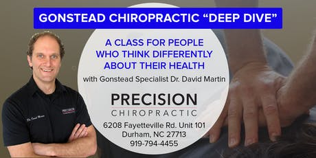 Chiropractic Deep Dive: A Different Kind of Health Class tickets