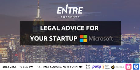 Legal Advice for Your Startup - Workshop tickets