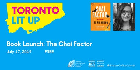 Toronto Lit Up: The Chai Factor tickets