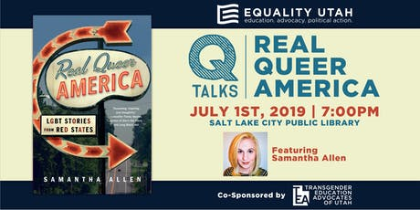 QTalks | Real Queer America with Samantha Allen tickets