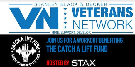 The Catch A Lift Fund STAX workout tickets