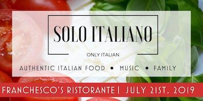 Solo Italiano at Franchesco's