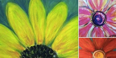 Flower Burst Paint Night at Green Bar tickets