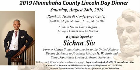 Minnehaha County Lincoln Day Dinner tickets