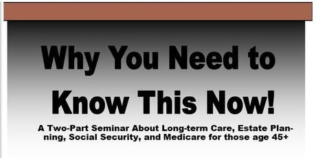 Long Term Care & Social Security Workshop tickets