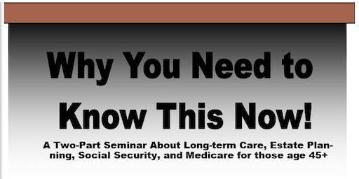 Medicare & Elder Care Seminar